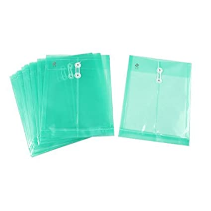 Amazon.com : Documentos eDealMax de Papel A4 de archivo FoldersString Sujetador, 10 Piezas, Verde : Office Products