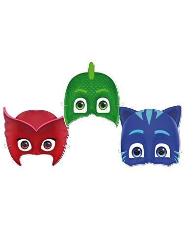 DISBACANAL 6 Caretas de PJ Mask
