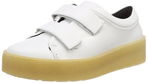 Royal RepubliQ Lynx Strap Shoe-White, Sneaker Donna Weiß (White 17)