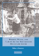 Books : Women, Work and Family in the Antebellum Mountain South by Wilma A. Dunaway (2008-03-10)