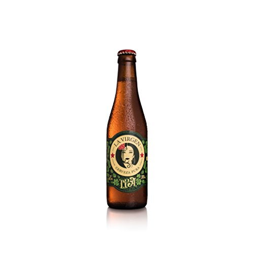 La Virgen Cerveza Artesana IPA – pack 24 botellas x 330 ml – Total: 7920 ml