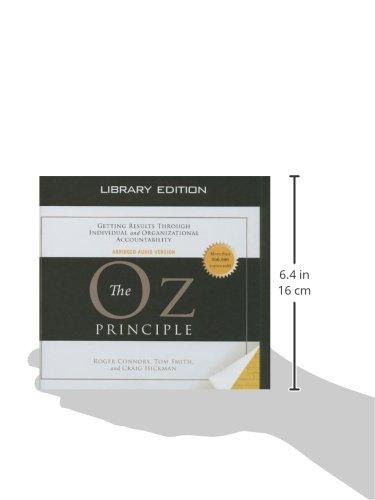 The Oz Principle (Library Edition) (Smart Audio)