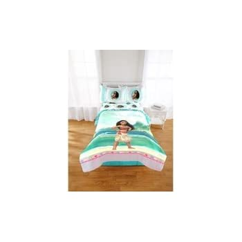 Amazon Com Disney Moana Comforter And Sheets 5pc Bedding