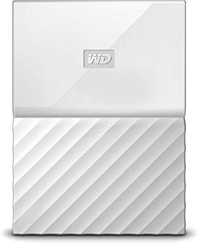 White Passport Portable External Drive product image
