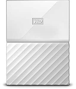 WD My Passport 1 TB Portable Hard Drive for PC, Xbox One and PlayStation 4 - White