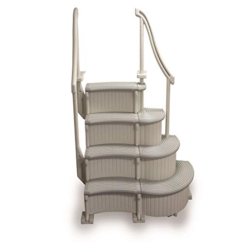 Confer Above Ground Swimming Pool Curve Step System ()