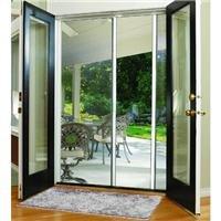 Doors Doors Screen French Retractable - LARSON E200038481 84x81 WHT DBL Scr Door