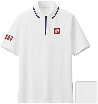 UNIQLO 錦織圭 2015年 ウィンブルドン着用モデル NKドライEXポロシャツユニクロ テニスウェア