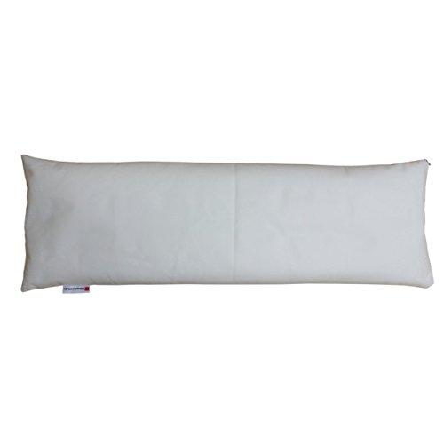 Almohada 30 x 90 cm, lavable con cojines-relleno de fibra ...