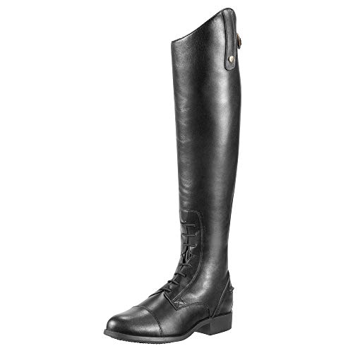 ARIAT Men's Heritage Contour Field Zip Tall Riding Boot Black