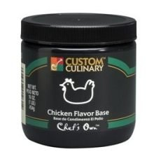 Chicken Flavored Granules Base Green 25 Pound by Custom Culinary