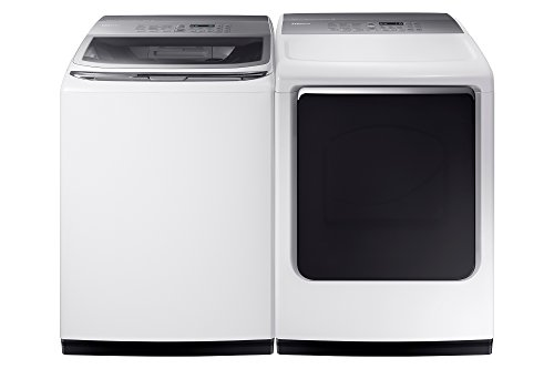 WA54M8750AW+DVE54M8750W Washer AND Dryer Pair Special
