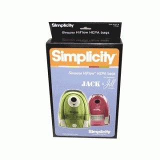 Simplicity Type Z HEPA Vacuum Cleaner Bags 6 Pack by Simplicity