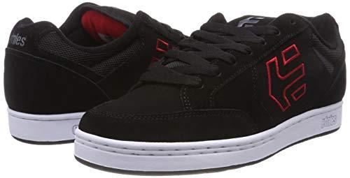 De Etnies 595 Swivel Homme Noir Chaussures Skateboard Rouge noir Pour pq4PqR