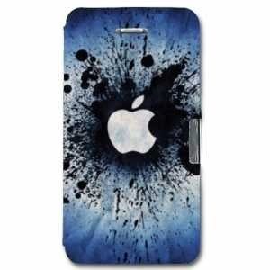 Amazon.com: leather flip Case Carcasa iphone 5 / 5S / SE ...