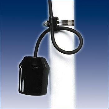SJE Rhombus Sensor Float Mini Sump Pump Switch Submersible 10Ft P/N 1017956