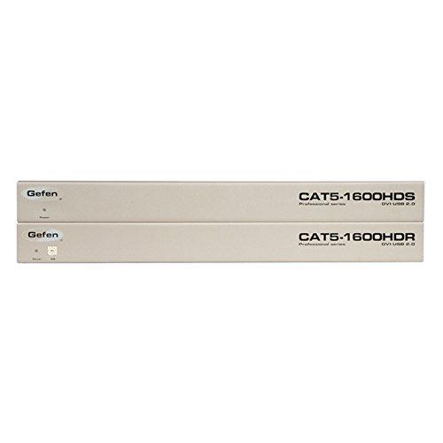 Gefen Dvi Cat (Gefen EXT-CAT5-1600HD | DVI KVM Extender over 2 CAT-5/6 Cables)