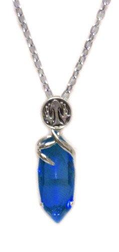 Amazon final fantasy blue save crystal necklace final fantay final fantasy blue save crystal necklace aloadofball Images