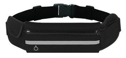 Cangurera Deportiva con comodo cinturon elastico y salida de cable de audifinos. Riñonera con bolsa de malla para hacer...