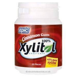 (Epic Xyitol Cinnamon Flavored Gum, 50-Count (Pack of)