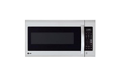LG LMV2031ST Stainless Steel 2.0 Cu. Ft.  Over-the-Range Microwave by LG