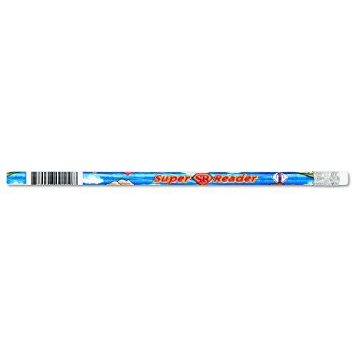 J.R. Moon Pencil JRM2112B Dozen of Super Reader Pencils, 0.4