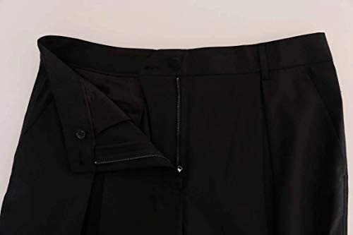 Dolce & ‿Gabbana Pantalon Stretch en Laine Noir