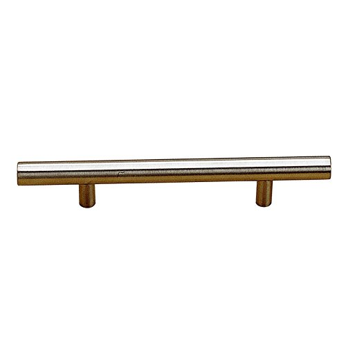 Richelieu Hardware - BP30576195 - Contemporary Metal Pull - 305 - 3 in - Brushed Nickel  Finish Richelieu Nickel Pull