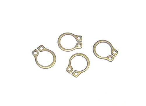 SH-25STZD Package of 500 Steel material with a yellow zinc plated finish EXTERNAL RETAINING RING 1//4
