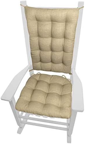 Rave Sand Neutral Porch Rocker Cushions - the best outdoor chair cushion for the money