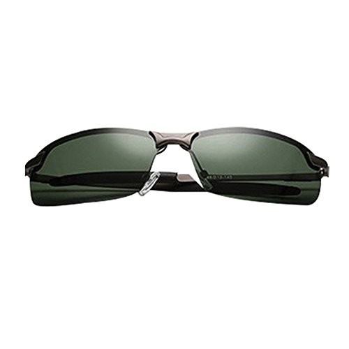 Film Vert Foncé Box air en CHshop conduite Gun pêche plein Lunettes miroir de polarisées 71nnOpUqS