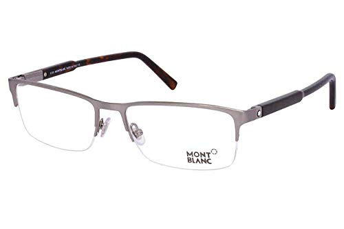 Eyeglasses Montblanc MB 636 MB 0636 014 shiny light ruthenium