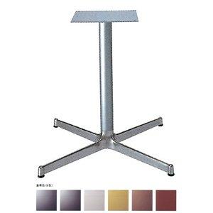 e-kanamono テーブル脚 SBL2900 ベース640x640 パイプ60.5φ 受座300x300 アルミシルバー/塗装パイプ AJ付 高さ700mmまで 黒紛体塗装 B012CF9AY2 黒紛体塗装 黒紛体塗装