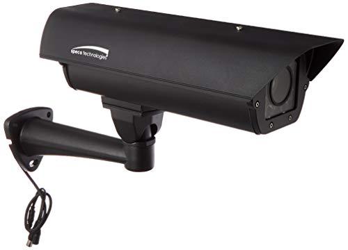 SPECO SPECLPR67H Outdoor Bullet License Plate Recognition Camera 5-50mm Lens, 700 TVL