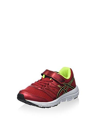 Asics Junior Gel-Zaraca 4 PS Zapatillas Para Correr Rojo / Amarillo