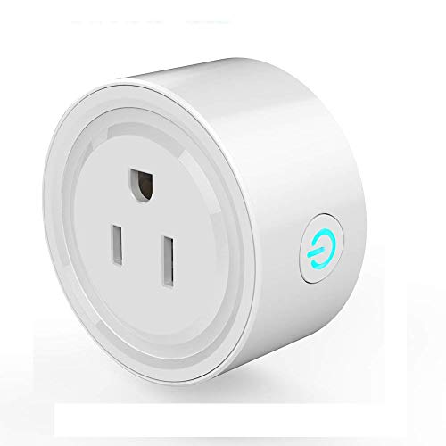 Mini Smart Plug Outlet with Alexa Google Assistant IFTTT for Voice Control, FREECUBE Mini Smart Outlet Wifi Socket with Timer Function, No Hub Required, FCC ETL Certified, 10A