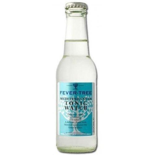 Fever Tree Mediterranean Tonic Water, 6.8 Fluid Ounce - 24 per case.