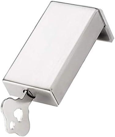 Cabilock スライディングウィンドウロックは、ステンレス鋼のドアフレームロックのセキュリティを子供用安全シルバーのキーで設定します