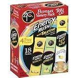 4C Totally Light Energy Rush Tea, 3.35 Ounce (2 Pack)