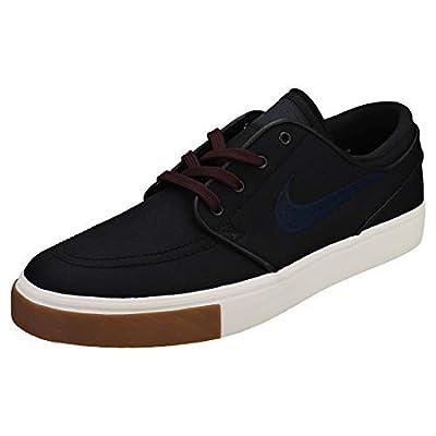 Nike Zoom Stefan Janoski CNVS Mens Fashion-Sneakers 615957-024_10.5 - Black/Obsidian-Burgundy Crush