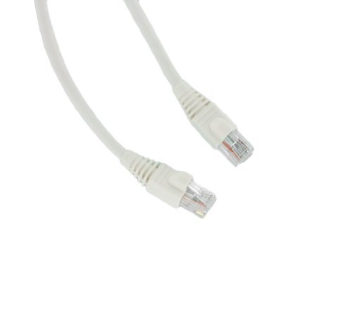 Leviton 5G460-5W GigaMax 5E Standard Patch Cord, Cat 5E, 5 Feet Length, White ()