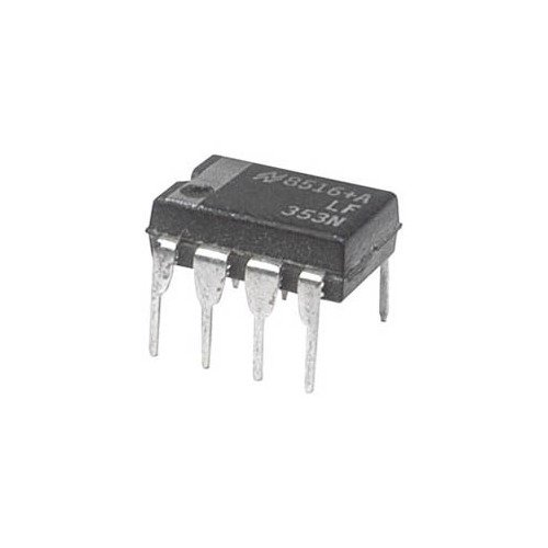LF353 IC Dual Low-Noise JFET OPAMP 3 MHz 8-pin DIP