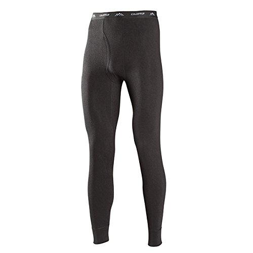 ColdPruf Men's Performance Single Layer Bottom, Black, Large