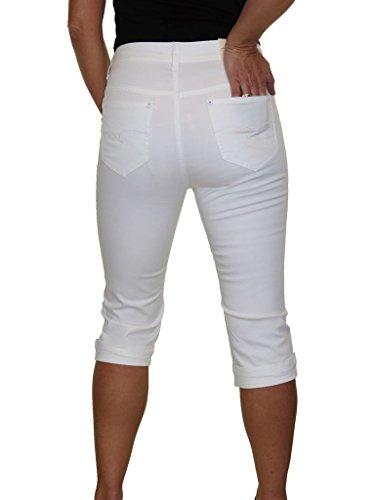Capri Jeans Jeans Elasticit Capri Elasticit Con Con 5q6THtpt