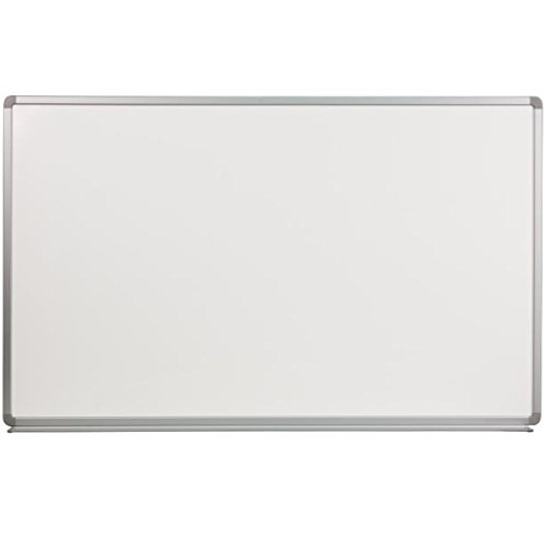 K&A Company Porcelain Magnetic Board X Marker 5' W x 3' H by K&A Company