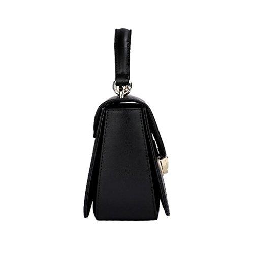 19cm Sac Taille Noir à pour Sac Générique à bandoulière Sac Femme Sauvage 11 Mode Main 23 véritable à bandoulière en bandoulière Femmes Sac Cuir à gd5RqwS
