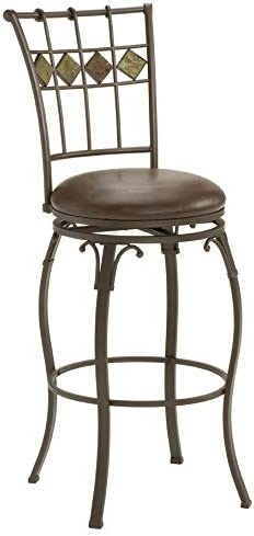Hillsdale Lakeview Swivel Counter Height Stool 24-Inch