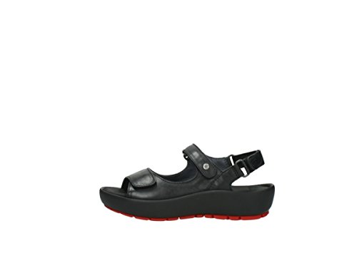 Leather Rio Black Sandals Womens Wolky 3325 qTKZwvOWS