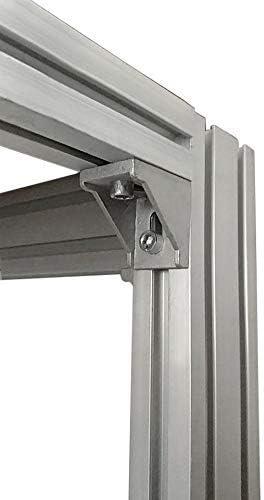 10stk Befestigungsmaterial Winkel Wandhalter Montagematerial für 20X20 Aluprofil