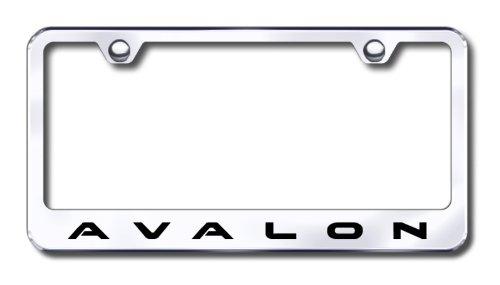 Avalon Engraved Chrome Frame -Metal